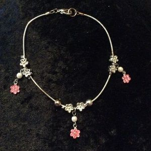 Jewelry - 🌺 Flower Dangle Charm Anklet 🌺